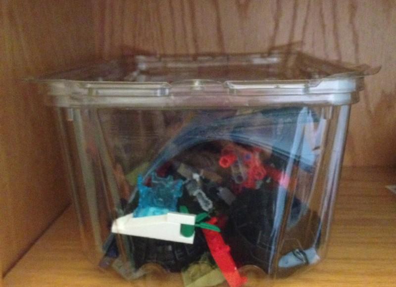 DIY LEGO Storage