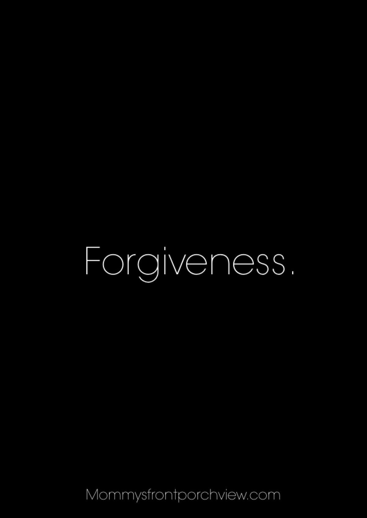 They Say Forgiveness Image