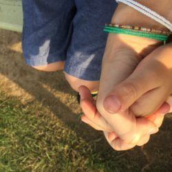 I will forever hold your hand.